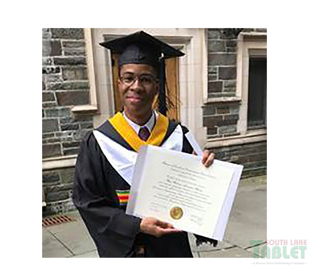 Montverde Academy is proud to announce and congratulate Hans Hanley (Class  of 2014) as he graduates from Princeton, high honor Summa Cum Laude, ...