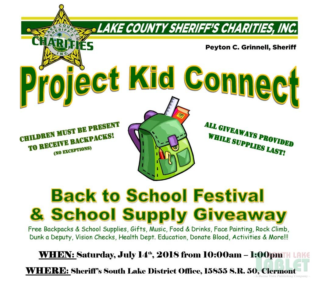 Back To School Festival and School Supply Giveaway | South Lake Tablet